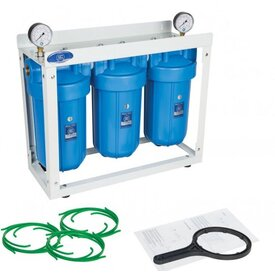 Wasserfilteranlage 10 Zoll Big mit Anti Kalk Filter